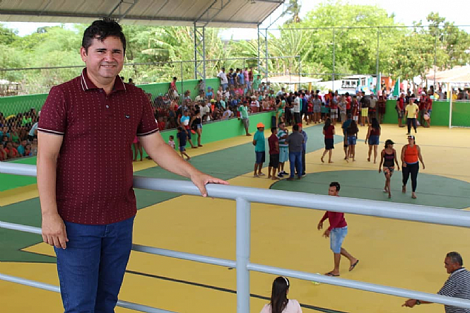 Reinauguração da Área de Lazer Prefeito Antônio Anchieta Varela