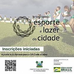 """Pré-Inscrição iniciadas para atividades de esporte e lazer """"pós Pandemia"""""""