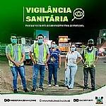 Secretaria Municipal de Saúde e Vigilância Sanitária realizam ações educativas em combate à pandemia de COVID-19