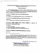 EDITAL DA COMISSÃO ORGANIZADORA DO CONSELHO MUNICIPAL DOS DIREITOS DO IDOSO DE PARAZINHO/RN