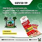 Prefeitura de Parazinho e Secretaria Municipal de Saúde disponibilizam  Ivermectina aos profissionais da saúde e ao público do grupo de risco